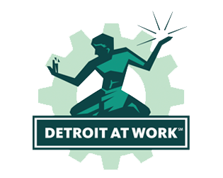 Detroit at Work logo